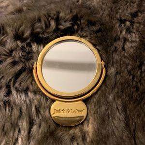 Vintage Judith Leiber pocket mirror 💛